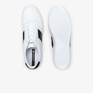 Lacoste Men Court-Master 319 6 CMA Shoes in White/ Black