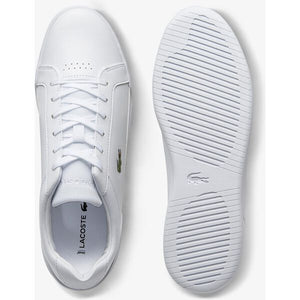 Lacoste Men Challenge 0120 2 SMA Shoes in White/ White