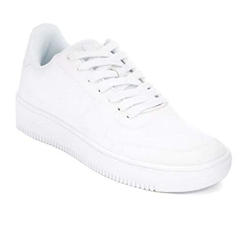 Crosshatch Men Torment Knit Shoes in White