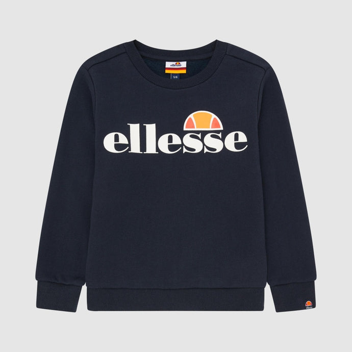 Ellesse Boys Suprios Sweatshirt in Navy
