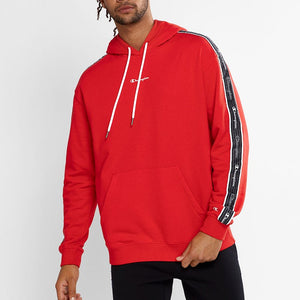 Champion Men EU Roch Tap Hood in Red