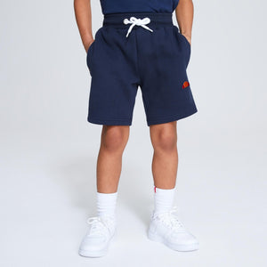 Ellesse Boys Toyle Fleece Shorts in Navy