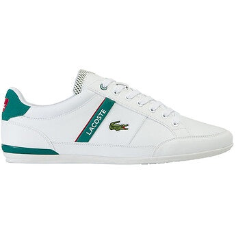 Chaymon Shoes in White/Green