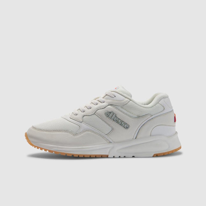 Ellesse Men NYC84 LTHR AM Shoes in White/White