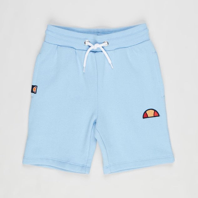 Ellesse Boys Toyle Fleece Shorts in Light Blue