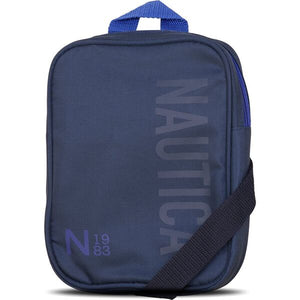 Nautica Men N1983 Tonal Crossbody Bag in Navy