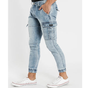 Henleys Men Leon Denim Pants in Light Indigo