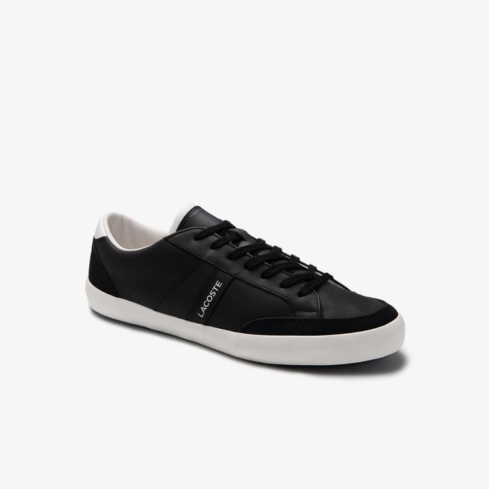Lacoste Men Coupole 0120 1 CMA Shoes in Black/Off White