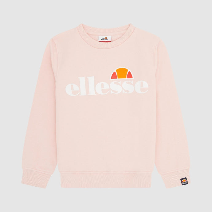 Ellesse Girls Siobhen Sweatshirt in Light Pink
