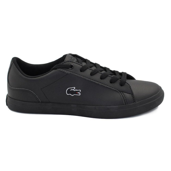 Lacoste Kids Lerond BL 2 CUC Shoes in Black/ Black