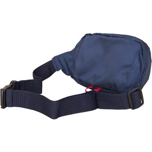 Nautica Men H20 Sport Belt Bag in Navy/ Red