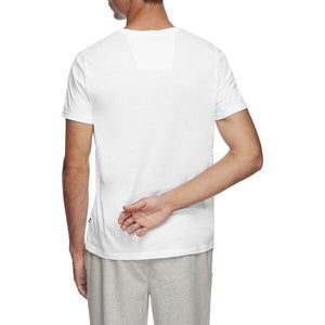 Nautica Men SS Basic Logo Tee in White