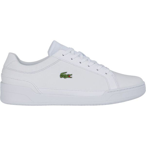 Lacoste Men Challenge 0120 2 SMA Leather Shoes in White/ White