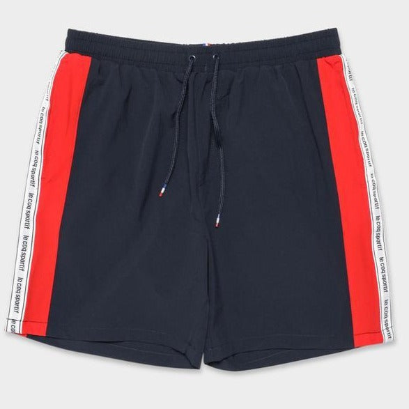 Le Coq Sportif Men Sponsor Shorts in Dress Blue