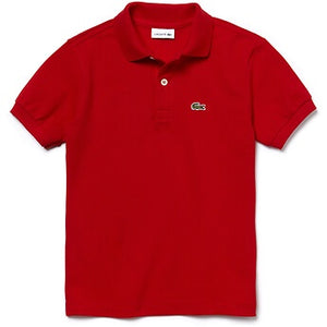 Lacoste Kid Classic Polo Shirt in Red