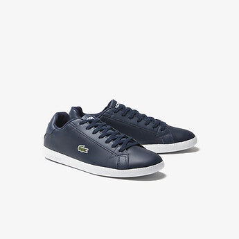 Graduate Shoes in Navy/White