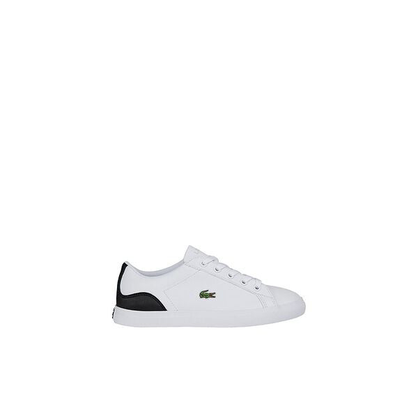 Lacoste Kids Lerond 0120 1 CUI Shoes in White/Black