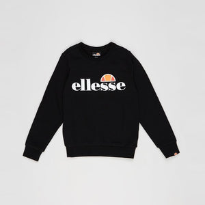 Ellesse Boys Suprios Sweatshirt in Black