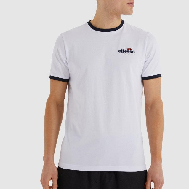 Ellesse Men Meduno Tee in White
