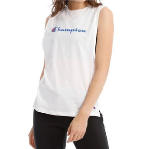 Champion Women Sporty Muscle in White