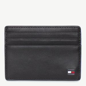 Tommy Hilfiger Men Eton Credit Card Holder in Black