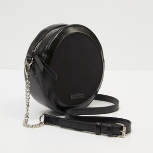 Tony Bianco Women Gabe Crossbody Bag in Black/ Black