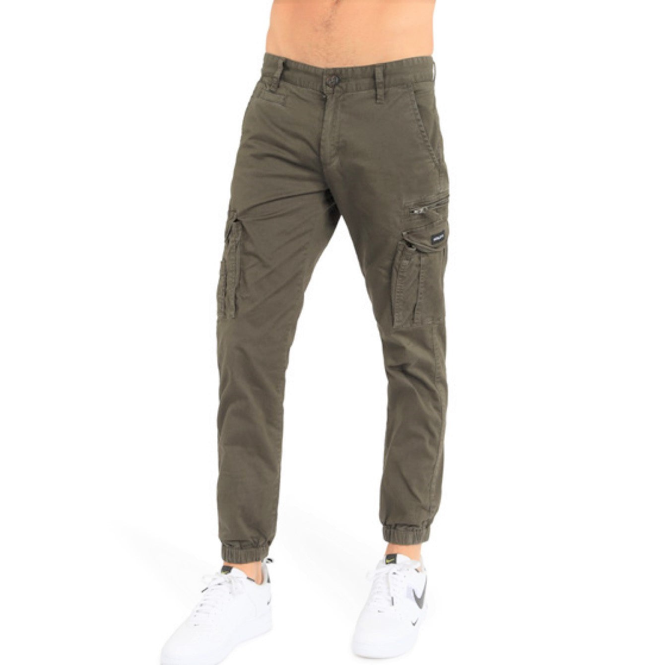 Henleys Men Eagle Pants in Army