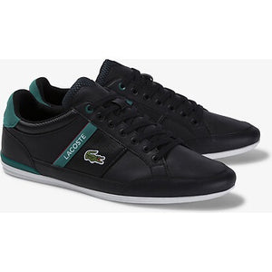 Lacoste Men Chaymon 120 1 CMA Shoes in Black/Grn
