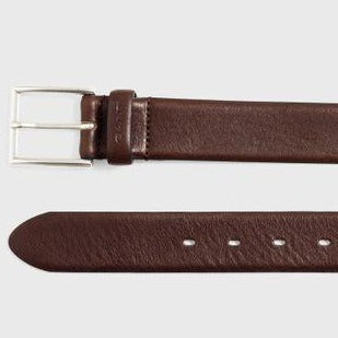 Gant Men Classsic Leather Belt in Dark Brown