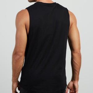 Ellesse Men Pryenees Vest Top in Black
