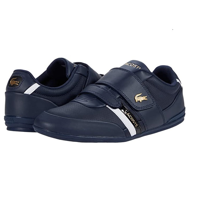 Lacoste Men Misano Strap 0120 1 CMA Shoes Navy/Black