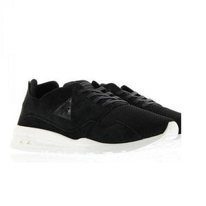 Le Coq Sportif Men R Pure Mono Luxe Shoes in Black