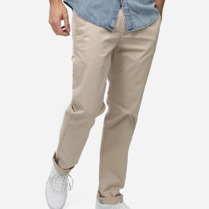 Industrie Men The Regular Cuba Chino Pants in Stone