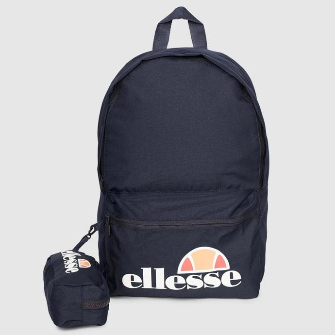 Ellesse Men Rolby Backpack & Pencil Case in Navy