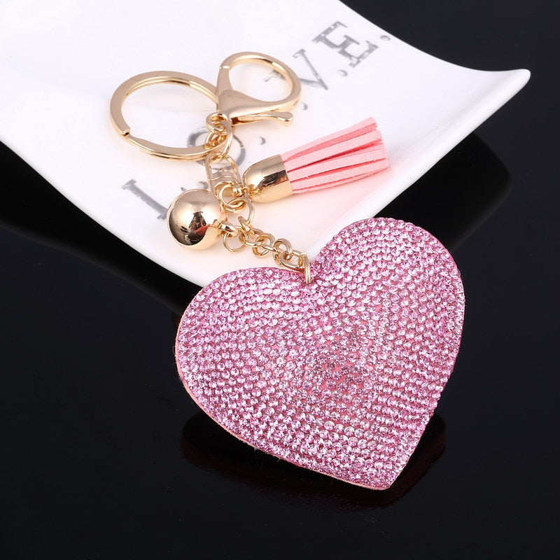 Heart of Hearts Key Chain