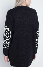 Graphic Lines Sweater