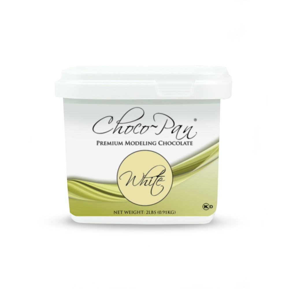 White Modeling Chocolate - 2lb Pail