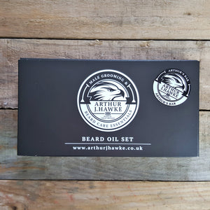 Arthur J. Hawke - Arthur's Bar Beard Oil Gift Set