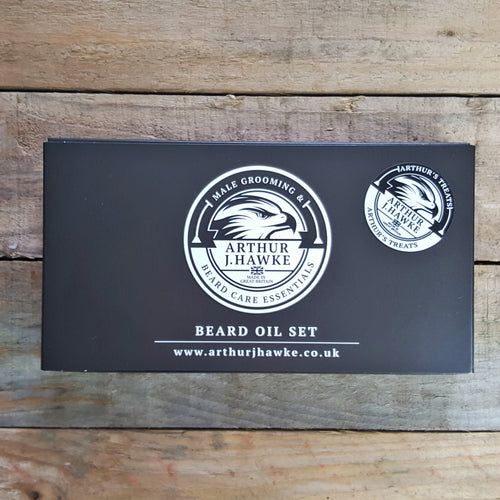 Arthur J. Hawke - Arthur's Treats Beard Oil Gift Set