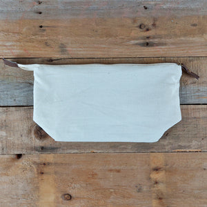 Beard Buys Simplicity 28cm Cotton Canvas Wash Bag