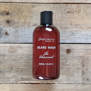 Bedfordshire Beard Co. - The Tobacconist Beard Wash