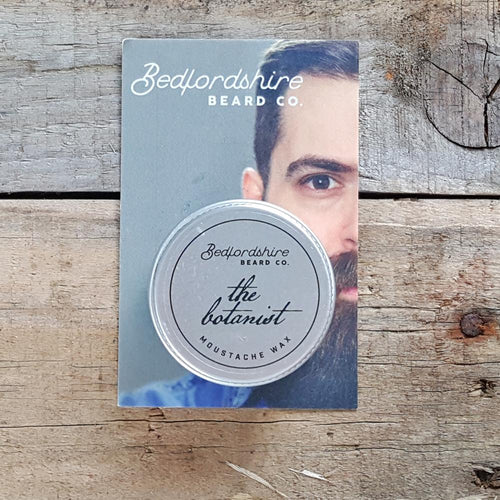 Bedfordshire Beard Co. - The Botanist Moustache Wax