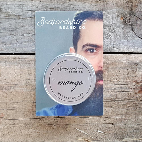 Bedfordshire Beard Co. - Mango Moustache Wax