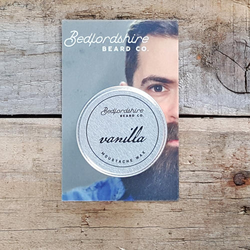 Bedfordshire Beard Co. - Vanilla Moustache Wax