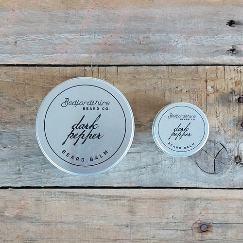 Bedfordshire Beard Co. - Dark Pepper Beard Balm