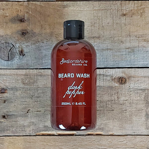 Bedfordshire Beard Co. - Dark Pepper Beard Wash