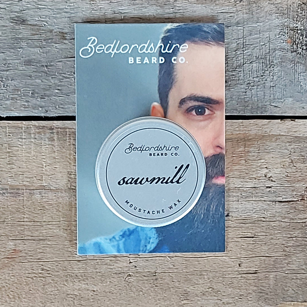 Bedfordshire Beard Co. - Sawmill Moustache Wax