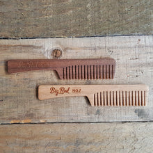 Big Red No.7 Beard Comb