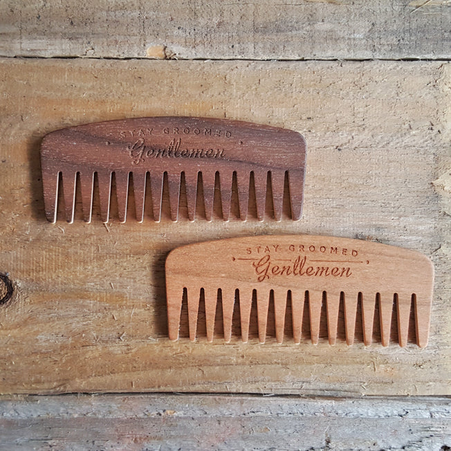 Big Red No.9 Beard Comb