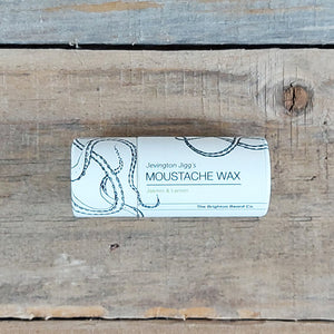 The Brighton Beard Company - Jevington Jigg's Firm Moustache Wax Stick, Jasmin & Lemon